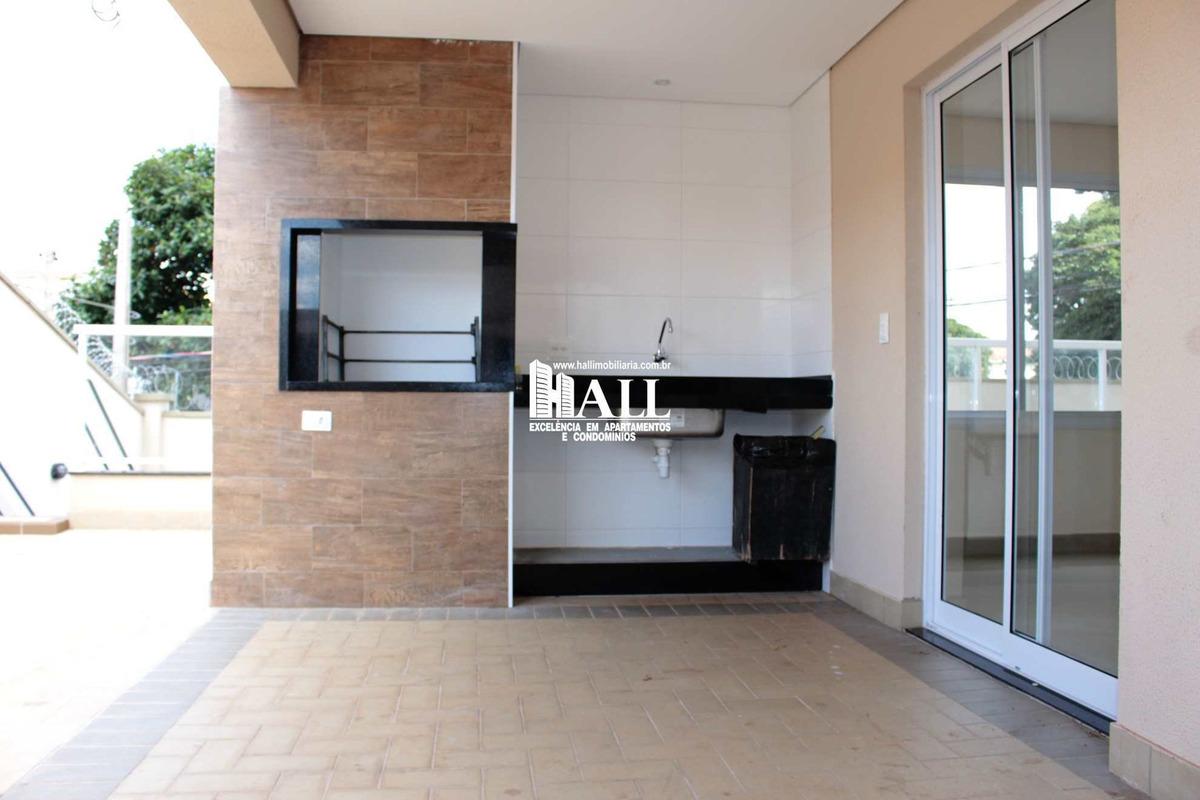 apartamento com 3 dorms, boa vista, são josé do rio preto - r$ 418 mil, cod: 3162 - v3162
