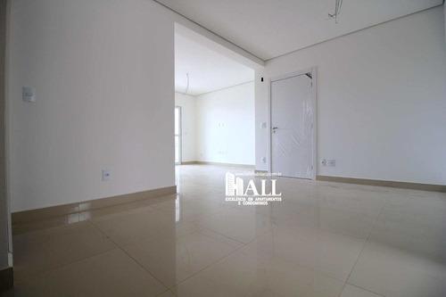 apartamento com 3 dorms, bom jardim, são josé do rio preto - r$ 745.000,00, 135m² - codigo: 3833 - v3833