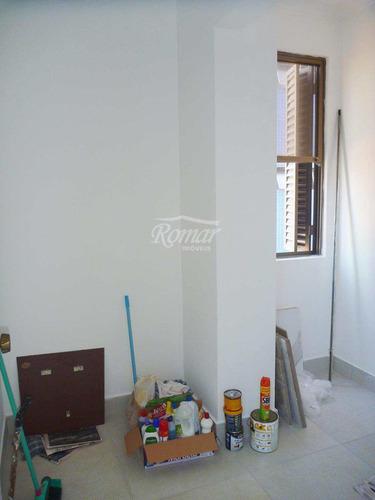 apartamento com 3 dorms, boqueirão, santos - r$ 595 mil, cod: 101 - a101