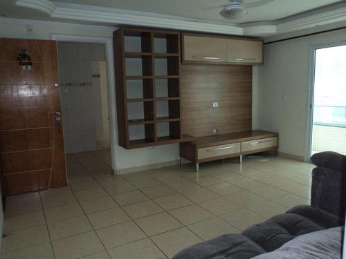 apartamento com 3 dorms, caiçara, praia grande - r$ 650.000,00, 115m² - codigo: 412678 - v412678
