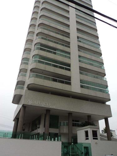 apartamento com 3 dorms, caiçara, praia grande - r$ 720.000,00, 152,58m² - codigo: 412735 - v412735