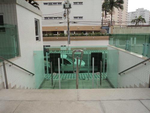 apartamento com 3 dorms, caiçara, praia grande - r$ 750.000,00, 152,58m² - codigo: 412462 - v412462