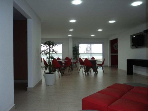 apartamento com 3 dorms, caiçara, praia grande - r$ 770.000,00, 152,58m² - codigo: 412463 - v412463