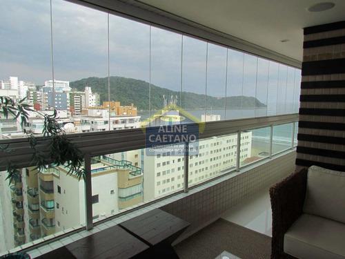apartamento com 3 dorms, canto do forte, praia grande - r$ 1.29 mi, cod: ac4028 - vac4028