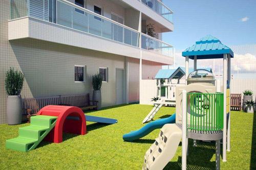 apartamento com 3 dorms, canto do forte, praia grande - r$ 647.000,00, 125,66m² - codigo: 412835 - v412835