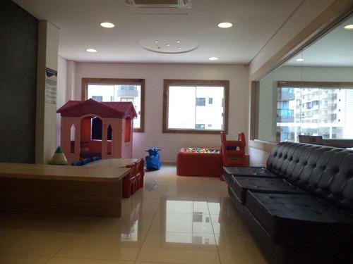 apartamento com 3 dorms, canto do forte, praia grande - r$ 698.500,00, 134,99m² - codigo: 413014 - v413014
