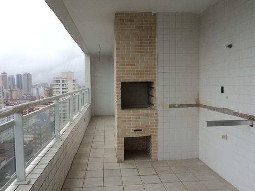 apartamento com 3 dorms, canto do forte, praia grande - r$ 732.000,00, 139,7m² - codigo: 412671 - v412671