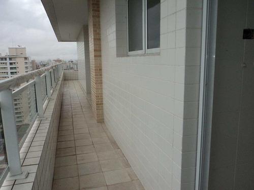 apartamento com 3 dorms, canto do forte, praia grande - r$ 736.000,00, 140,74m² - codigo: 412670 - v412670