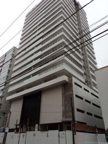 apartamento com 3 dorms, canto do forte, praia grande - r$ 750.000,00, 134m² - codigo: 412533 - v412533