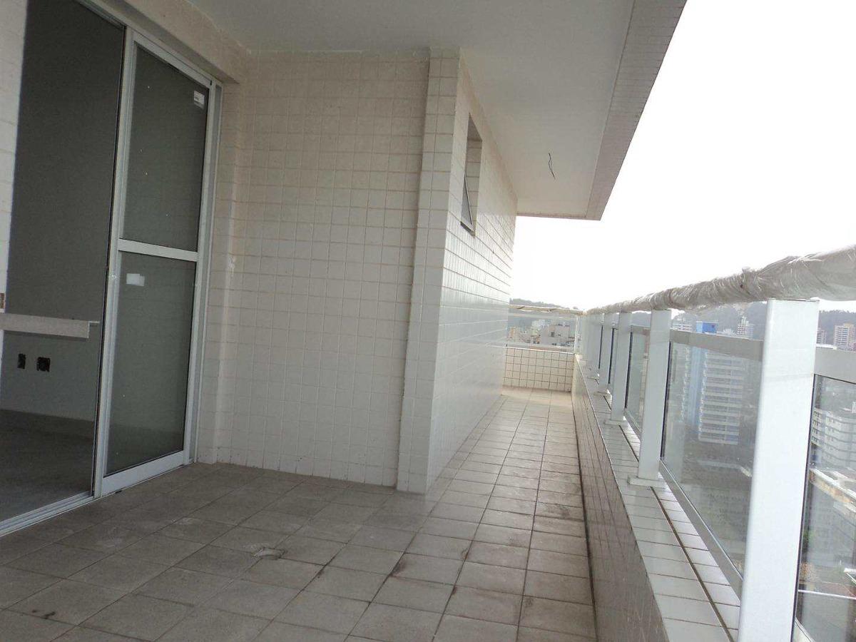 apartamento com 3 dorms, canto do forte, praia grande - r$ 792.000,00, 139,7m² - codigo: 412705 - v412705