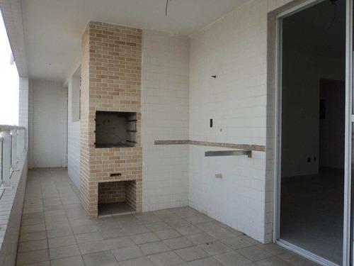apartamento com 3 dorms, canto do forte, praia grande - r$ 852.000,00, 139,7m² - codigo: 412709 - v412709