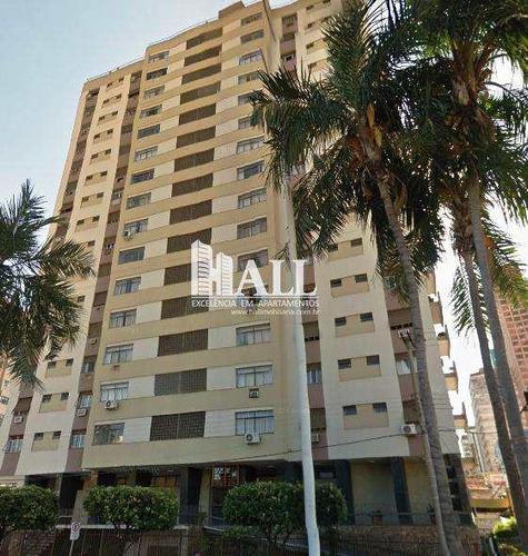 apartamento com 3 dorms, centro, são josé do rio preto - r$ 250.000,00, 110m² - codigo: 333 - v333