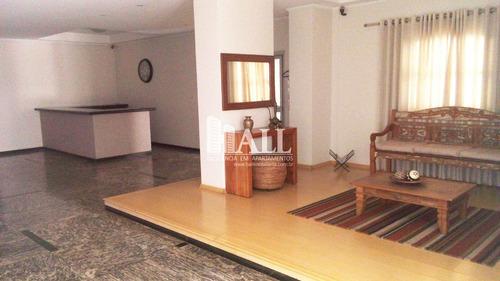 apartamento com 3 dorms, centro, são josé do rio preto - r$ 378.000,00, 100m² - codigo: 3436 - v3436
