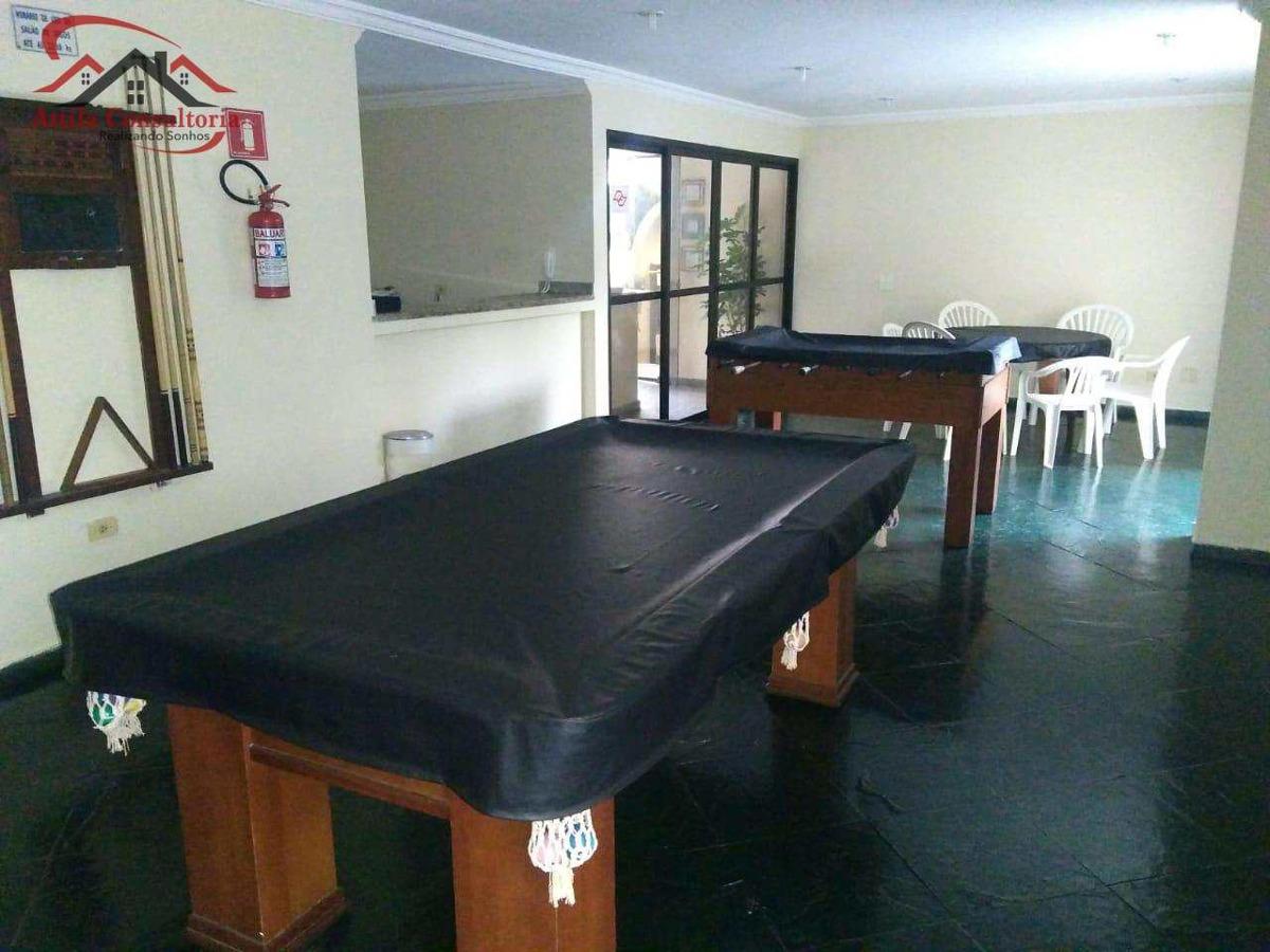 apartamento com 3 dorms, enseada, guarujá - r$ 480.000,00, 85m² - codigo: 508 - v508