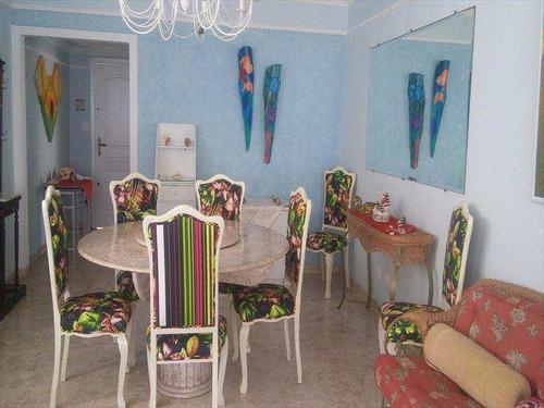 apartamento com 3 dorms, gonzaga, santos, cod: 9079 - a9079