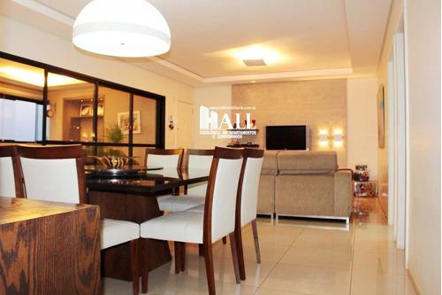 apartamento com 3 dorms, green fields residence club, são josé do rio preto - r$ 884.000,00, 157m² - codigo: 1851 - v1851