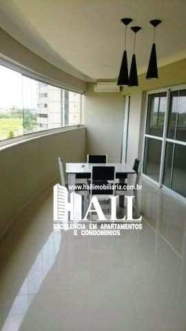 apartamento com 3 dorms, green fields residence club, são josé do rio preto - r$ 997.000,00, 181m² - codigo: 3148 - v3148