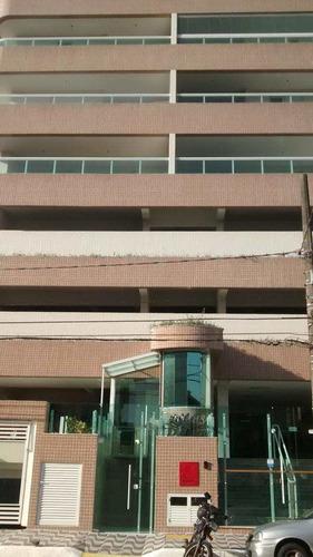 apartamento com 3 dorms, guilhermina, praia grande, 136m² - codigo: 412425 - v412425