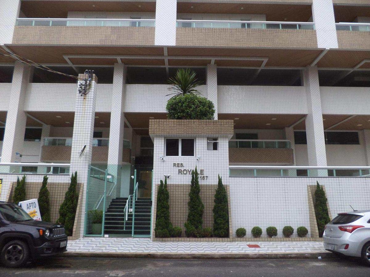 apartamento com 3 dorms, guilhermina, praia grande - r$ 460.000,00, 125,1m² - codigo: 412862 - v412862