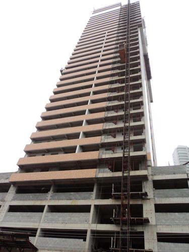 apartamento com 3 dorms, guilhermina, praia grande - r$ 700.000,00, 138m² - codigo: 412525 - v412525