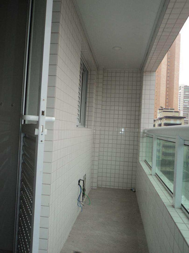 apartamento com 3 dorms, guilhermina, praia grande - r$ 700.000,00, 138m² - codigo: 412527 - v412527
