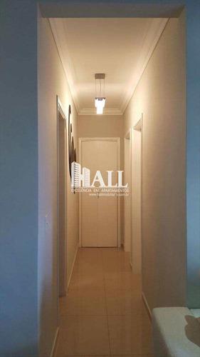 apartamento com 3 dorms, higienópolis, são josé do rio preto - r$ 313.000,00, 74m² - codigo: 1924 - v1924