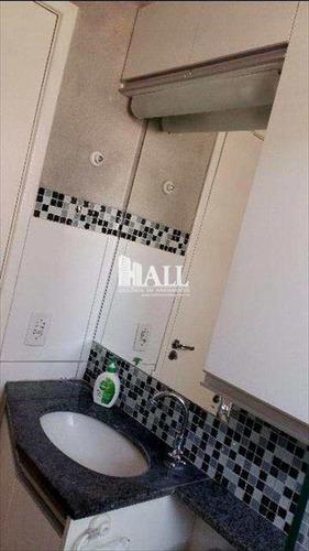 apartamento com 3 dorms, higienópolis, são josé do rio preto - r$ 377.000,00, 78m² - codigo: 1679 - v1679