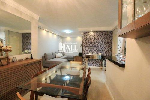 apartamento com 3 dorms, higienópolis, são josé do rio preto - r$ 384.000,00, 80m² - codigo: 3682 - v3682