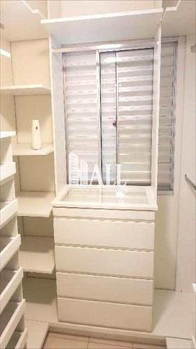 apartamento com 3 dorms, jardim bosque das vivendas, são josé do rio preto - r$ 223.000,00, 74m² - codigo: 1709 - v1709