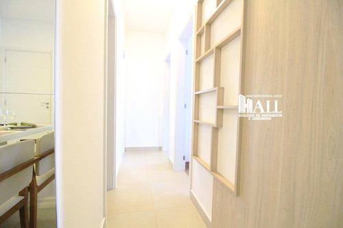 apartamento com 3 dorms, jardim fuscaldo, são josé do rio preto - r$ 298.000,00, 74m² - codigo: 3854 - v3854