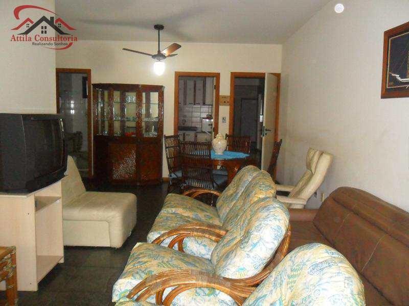 apartamento com 3 dorms, jardim santa genoveva, guarujá - r$ 400.000,00, 115m² - codigo: 455 - v455