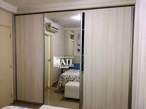 apartamento com 3 dorms, jardim tarraf ii, são josé do rio preto - r$ 458.000,00, 90m² - codigo: 4153 - v4153