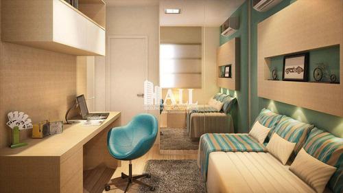 apartamento com 3 dorms, jardim urano, são josé do rio preto - r$ 490.000,00, 86m² - codigo: 1558 - v1558