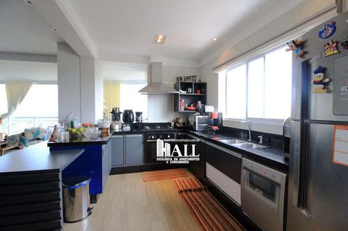 apartamento com 3 dorms, jardim vivendas, são josé do rio preto - r$ 950.000,00, 160m² - codigo: 4147 - v4147
