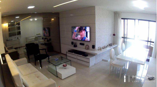 apartamento com 3 dorms, jatiúca, maceió - r$ 495 mil, cod: 13 - v13