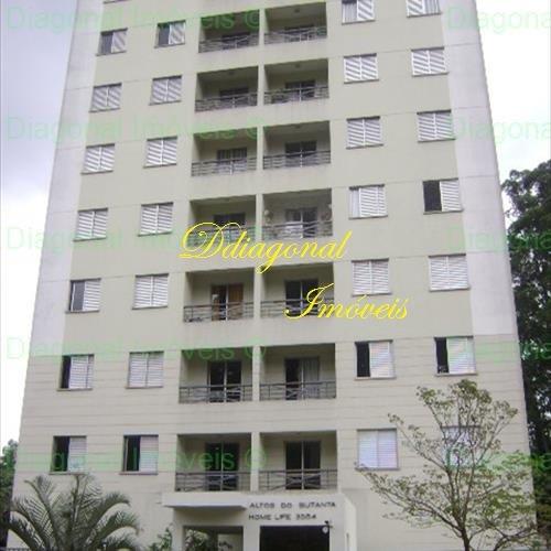 apartamento com 3 dorms - jd educandario - cláudio 78222
