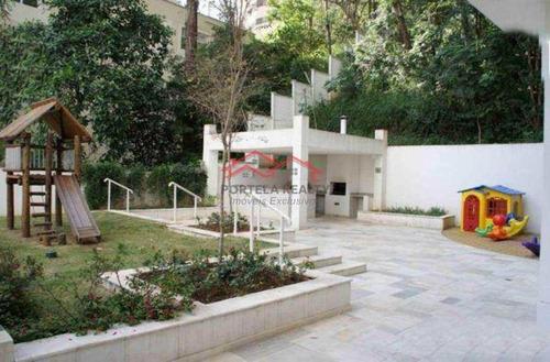 apartamento com 3 dorms, morumbi, são paulo - r$ 850 mil, cod: 116 - v116