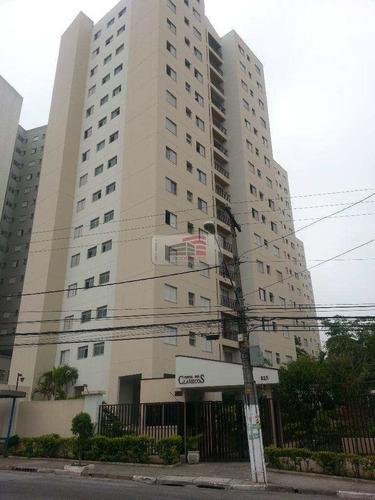 apartamento com 3 dorms, planalto, são bernardo do campo - r$ 268 mil, cod: 176 - v176