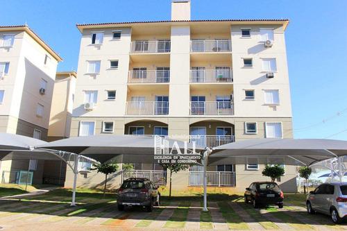 apartamento com 3 dorms, praças golfe, são josé do rio preto - r$ 358.000,00, 75m² - codigo: 4345 - v4345