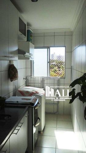 apartamento com 3 dorms, residencial colorado, são josé do rio preto - r$ 215.000,00, 80m² - codigo: 2782 - v2782