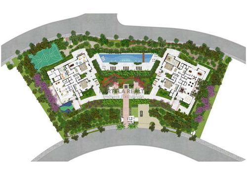apartamento com 3 dorms, vila andrade, são paulo - r$ 750 mil, cod: 58 - v58