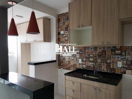 apartamento com 3 dorms, vila angélica, são josé do rio preto - r$ 288.000,00, 66m² - codigo: 2941 - v2941