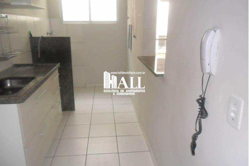 apartamento com 3 dorms, vila imperial, são josé do rio preto - r$ 275.000,00, 70m² - codigo: 3592 - v3592