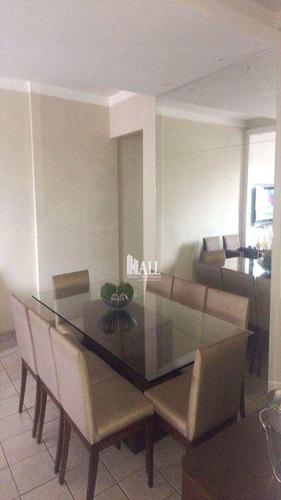 apartamento com 3 dorms, vila imperial, são josé do rio preto - r$ 397.000,00, 90m² - codigo: 1640 - v1640