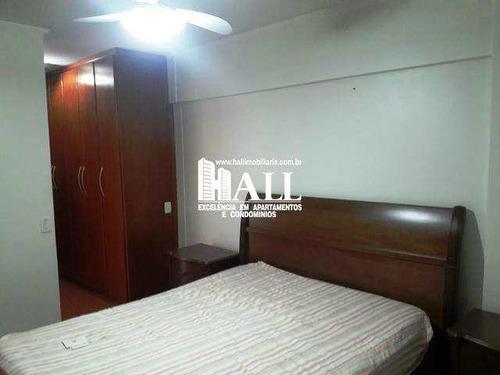 apartamento com 3 dorms, vila nossa senhora de fátima, são josé do rio preto - r$ 580.000,00, 130m² - codigo: 3336 - v3336
