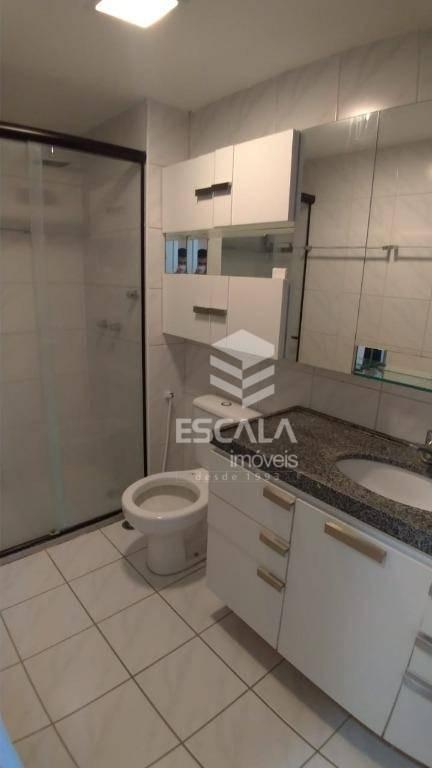 apartamento com 3 quartos, 94 m², mobiliado, 2 vagas - varjota - fortaleza/ce - ap0944
