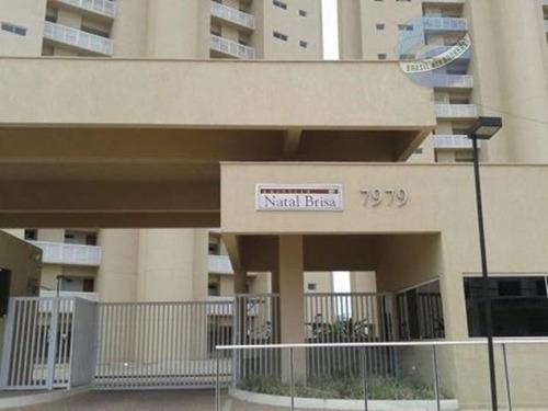 apartamento com 3 quartos, em condomínio clube - natal brisa - ap0096
