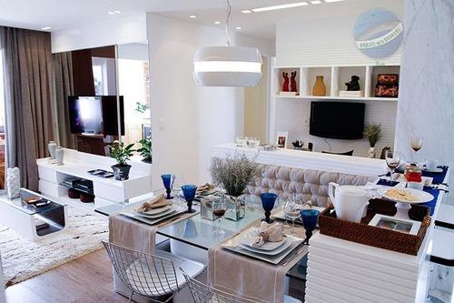 apartamento com 3 quartos, mais dependência - condomínio central park. - ap0003