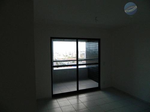 apartamento com 3 quartos mais dependência, na candelária, pronto para morar - residencial porto arena - ap0049
