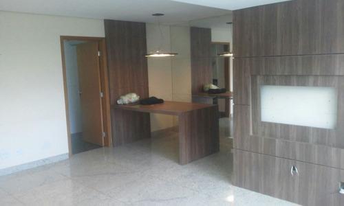 apartamento com 3 quartos no bairro lourdes. - 1399